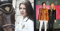 Gucci disegna l&#039;equipaggiamento da cavallo di Charlotte Casiraghi