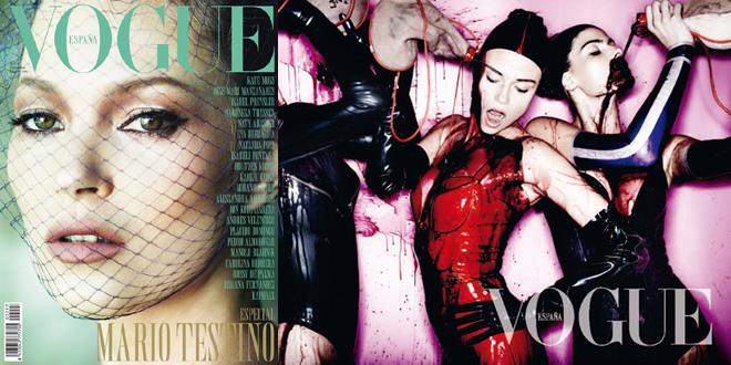 Vogue Spagna Mario Testino