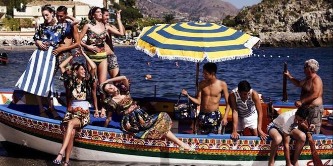 Dolce Gabbana ad pe 2013