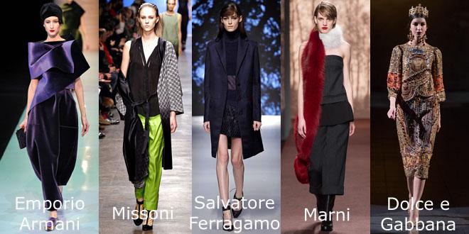 MMD ai 2013-14 Emporio Armani Missoni Ferragamo Marni Dolce Gabbana