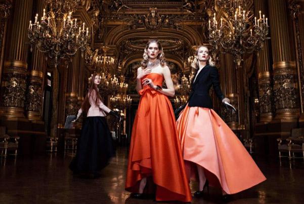 Dior adv Opera Paris