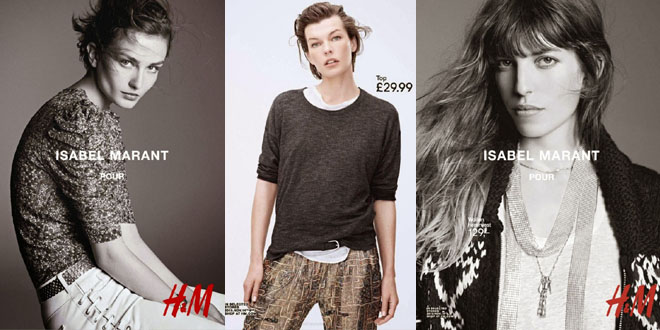 Isabel Marant HM lookbook