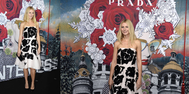 Gwyneth Printemps Prada