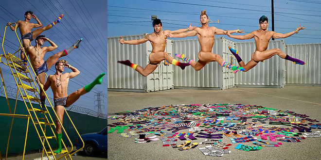 Happy Socks LaChapelle