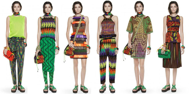 M by Missoni lookbook pe 2014