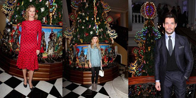 Albero Natale Dolce Gabbana Claridges