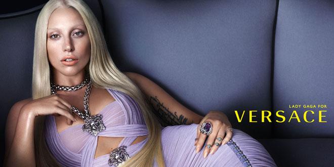 Lady Gaga Versace pe 2014