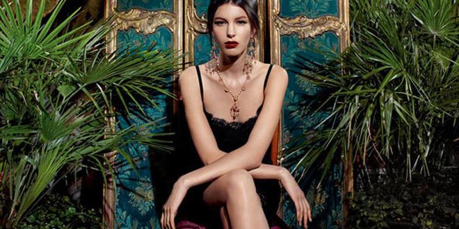 Gioielli Dolce e Gabbana pe 2014