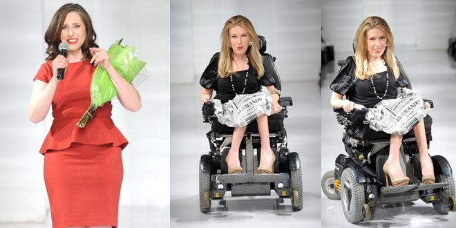 modella disabile
