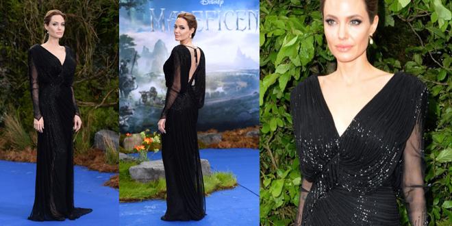 Angelina Jolie Atelier Versace