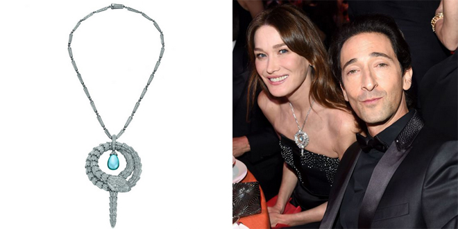 Carla Bruni Serpenti Bulgari
