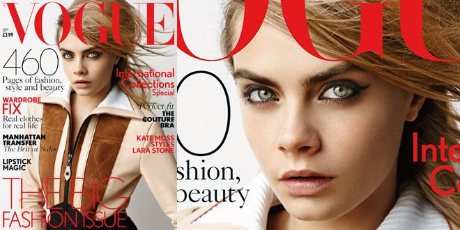 Vogue UK sept 2014 Cara Delevingne