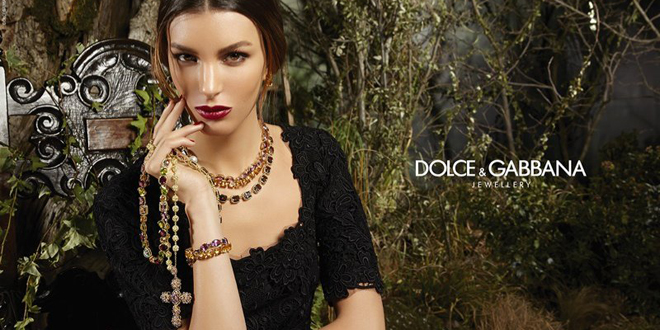 Dolce e Gabbana gioielli 2014
