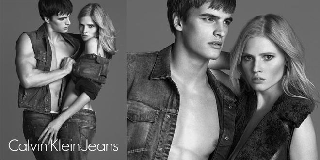 Lara Stone Calvin Klein Jeans