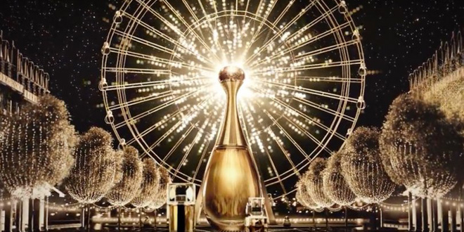 dior holiday lights natale 2015