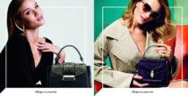Rosie Huntington-Whiteley per le borse Bulgari