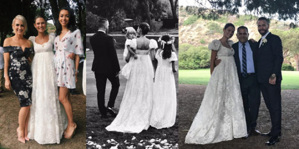 Vestito Uomo Matrimonio Dolce E Gabbana   Abito da sposa di bianca balti  firmato dolce e e5bd5129937