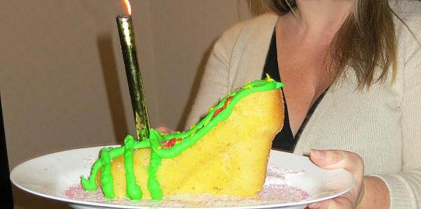 wedge cake