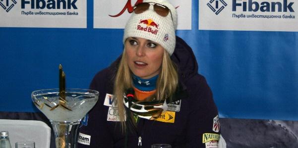 Lindsay Vonn a Bansko