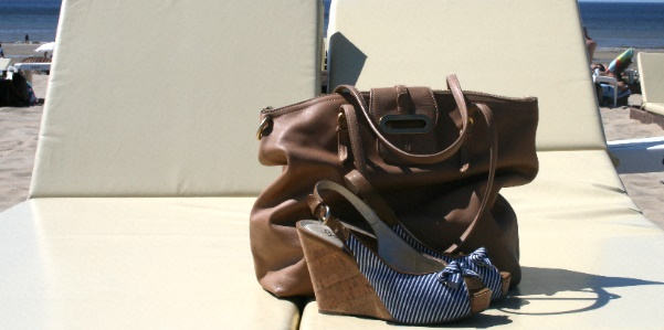 Jimmy Choo Thora Dome Shopper and shoes