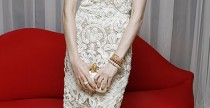 Star Style// Anne Hathaway in total look Alexander McQueen