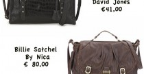 Cheap & Chic// Satchel bag under €100