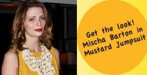 Get The Look// Mischa Barton and her Mustard Jumpsuit