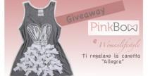 Giveaway// Womanlifestyle ti regala la canotta Allegra di Pink Bow