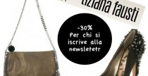 """Shopping// Su Tiziana Fausti super sconto """"natalizio"""" del 30%"""