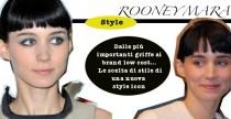 Star Style// Rooney Mara, scelte di stile di una nuova style icon