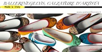 Made in Italy// Ballerinegelvis: calzature d'artista