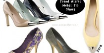 Trend Alert// Metal Tip Shoes