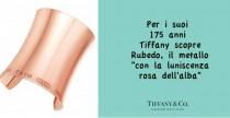 Rubedo: il metallo rosa dei nuovi gioielli Tiffany