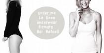 Under.me la collezione underwear di Bar Rafaeli