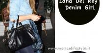 Star Style// Lana Del Rey, Denim Girl