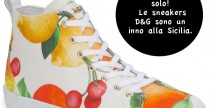 Shoes// Agrumi per le sneakers di D&G