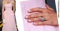 Star Style// Jessica Biel e la nail art Vuitton Inspired