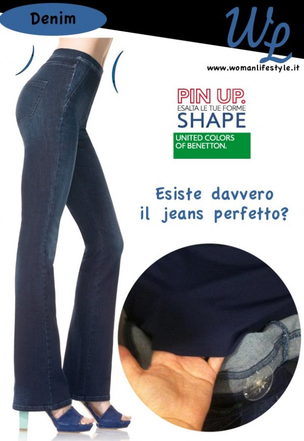 Ma esiste davvero il jeans perfetto? Io ho acquistato Shape della linea Pin Up di Benetton, ma anche lui ha i suoi pro ed i suoi contro.