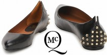 Shoes// Le ballerine borchiate di McQ by Alexander McQueen