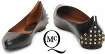 Shoes// Le ballerine borchiate di McQ by Alexander McQueen
