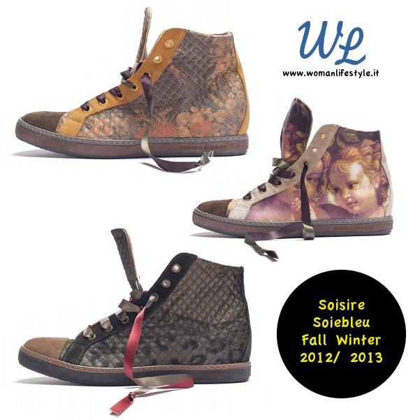 Soisire Soiebleu rifà il look alle classiche sneakers