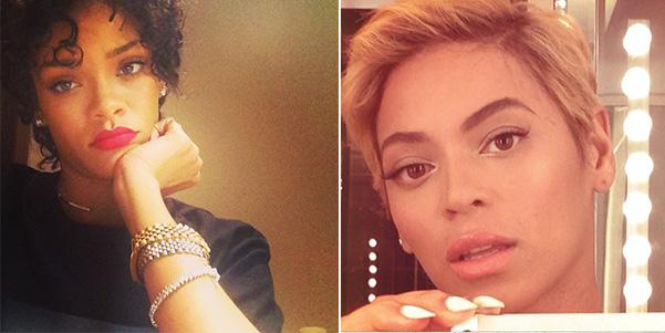 Rihanna-Beyoncè-new-haircut