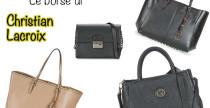 Desiderio del giorno: le borse di Christian Lacroix