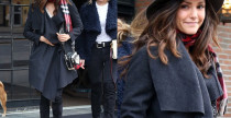Nina Dobrev, outfit casual a New York