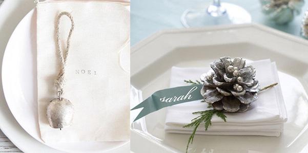 Segnaposto Matrimonio Tema Natalizio.Segnaposti Tema Natale Fashion Bride