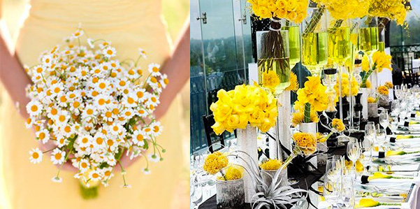 Matrimonio Tema Giallo : Matrimonio in giallo per andare controcorrente fashion bride