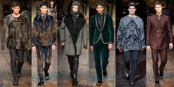 Dolce e Gabbana uomo ai 2014