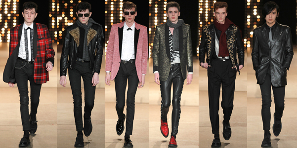 Saint Laurent uomo ai 2014