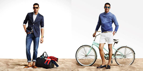 Tommy Hilfiger lookbook uomo pe 2014