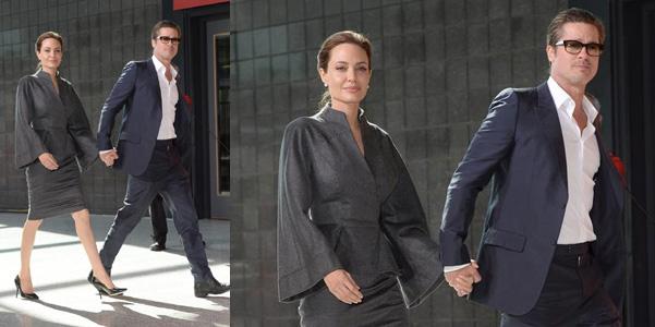 Brad Pitt cravatta